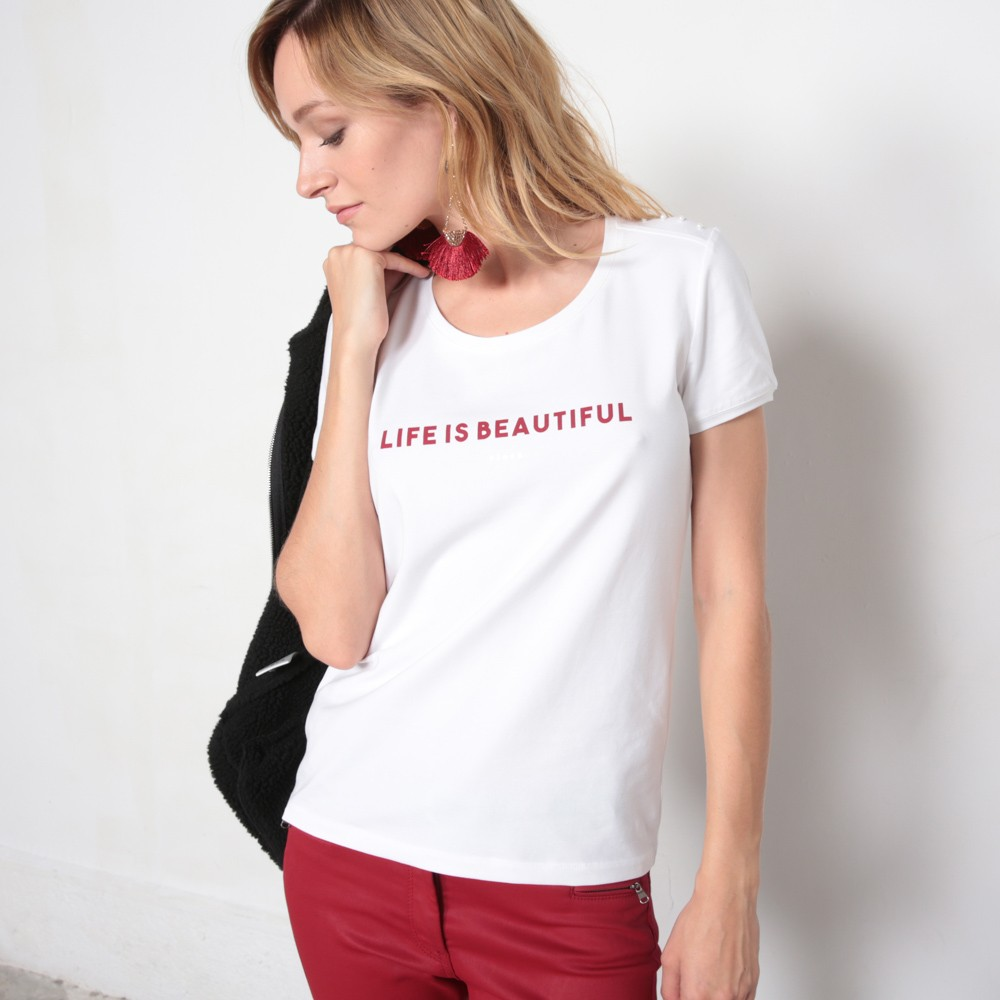 Tee-shirt MC 18RIVABLAN