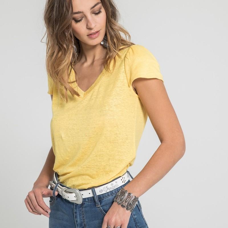 Tee-shirt 19SRIJAUNE