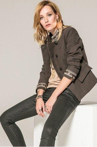 549a6d7d4d82 Vêtement femme automne 2018 : nouvelle collection de prêt à porter ...