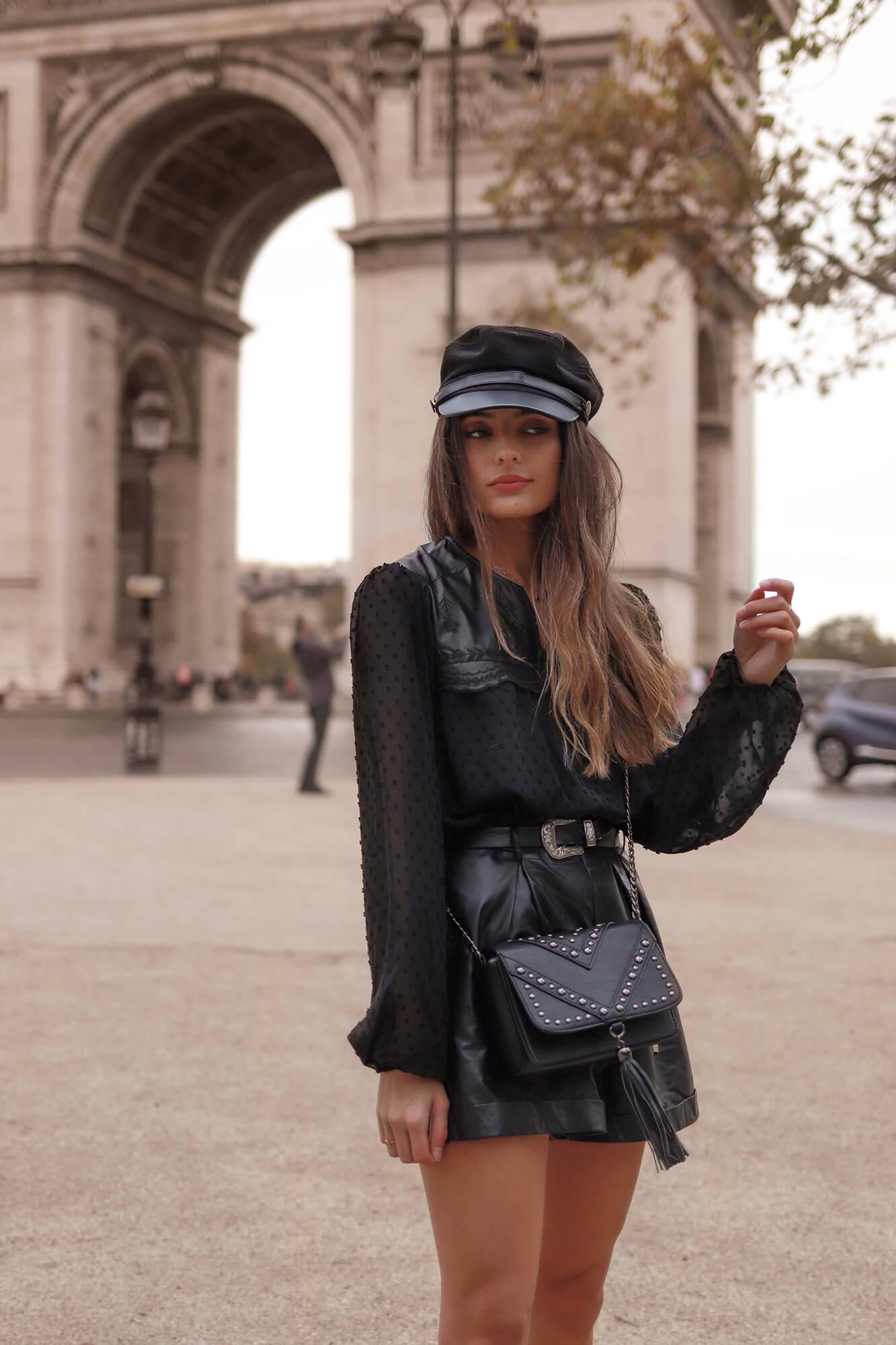 La jolie Adeline, pure fashionista parisienne