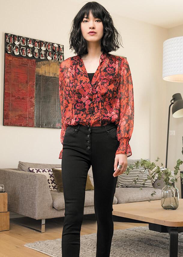 Mode femme marque elora vente a domicile prêt a porter femme